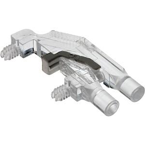 Lichtleiter, SMD, 2x1-fach, ø 3 mm, planar, abgewinkelt MENTOR 12701001