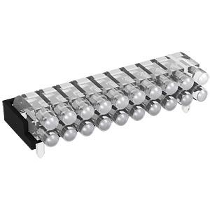 Lichtleiter 1x2-fach 2,8mm, ø 2mm, liegend MENTOR 12.962.012