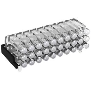Light guide 10 x 3-way 2.8 mm, ø 2 mm, horizontal MENTOR 12.962.103