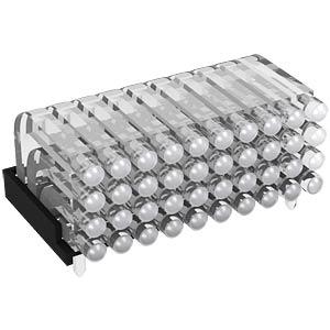 Lichtleiter, SMD, 10x4-fach 2,8mm, ø 2mm, liegend MENTOR 12.962.104