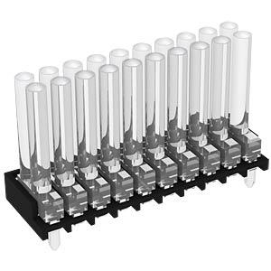 Light guide 10x2-way 30mm, ø 2mm, vertical MENTOR 1296.7202