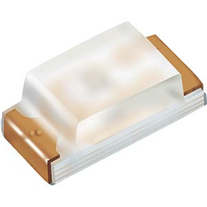 LED, SMD 1608 (0603), orange, 112 mcd, 120° EVERLIGHT 19-213/S2C-AP1Q2B/3T