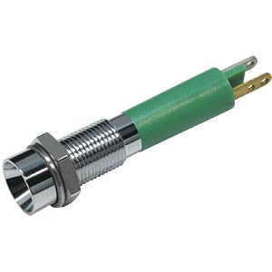 LED indicator, 3 mm, internal refl., 12 V, green EBT OPTRONIC 19030251