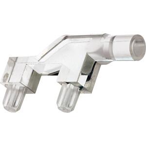 Lichtleiter, SMD, 1-fach, ø 3 mm, planar, abgewinkelt MENTOR 12711000