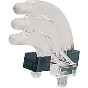 Lichtleiter, SMD, 3x1-fach, ø 3 mm, sphärisch, abgewinkelt MENTOR 12761003