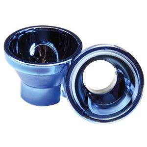 LED-Reflektor, 5 mm, metallisiert, blau ALBS 882005