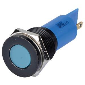 Signalleuchten LED, 24V DC, 16mm, FASTON, bl/BlC APEM Q16F1BXXB24E