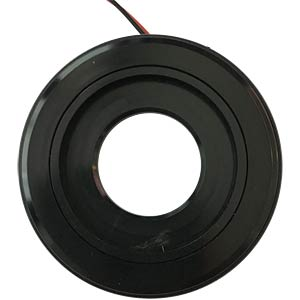 LED-Signalring, Ø22/55 mm, grün, schwarz, klar, IP67 APEM QH22L28GC