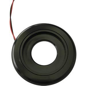 LED-Signalring, Ø22/55 mm, gelb, schwarz, klar, IP54 APEM QH22L28Y