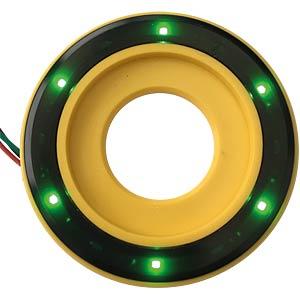 LED-Signalring, Ø22/55 mm, rot/grün, gelb, klar, IP67 APEM QH22L58RGC