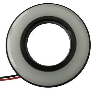 LED-Signalring, Ø22/42 mm, grün, schwarz, matt, IP67 APEM QH22027GC