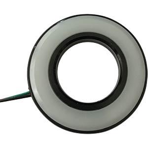 LED-Signalring, Ø22/42 mm, rot/grün, schwarz, matt, IP67 APEM QH22027RGC