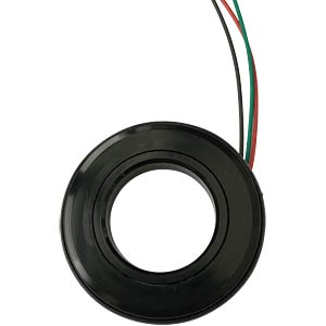 LED-Signalring, Ø16/35,5 mm, rot/grün, schwarz, klar, IP54 APEM QH16028RG