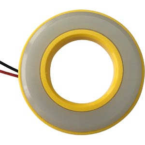 LED-Signalring, Ø22/42 mm, grün, gelb, matt, IP67 APEM QH22057GC