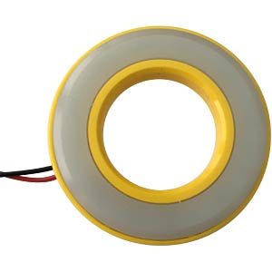 LED-Signalring, Ø22/42 mm, rot, gelb, matt, IP67 APEM QH22057RC