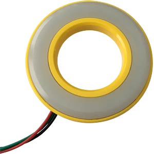 LED-Signalring, Ø19/38,5 mm, rot/grün, gelb, matt, IP67 APEM QH19057RGC
