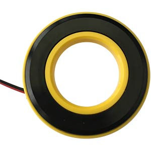 LED-Signalring, Ø16/35,5 mm, gelb, gelb, klar, IP67 APEM QH16058YC