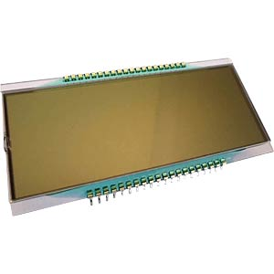LCD-7-Segment, 1x4 + SZ, H:20,5mm DISPLAY ELEKTRONIK DE 160-RS-20/7,5