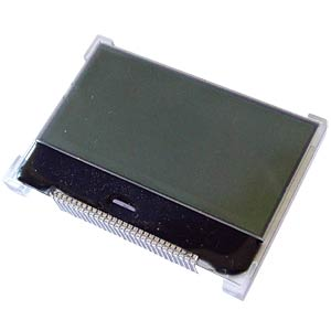 LCD-Grafikdisplay, 128x64 Pixel, sw/ws, m.Bel. DISPLAY ELEKTRONIK DEM 128064O FGH-PW