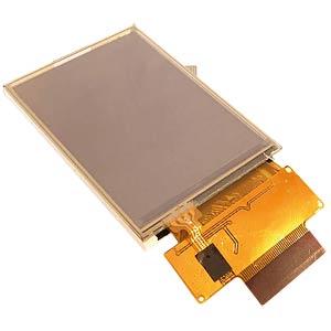 TFT-Display, 2,4, 240x320 Pixel, RGB, touch DISPLAY ELEKTRONIK DEM 240320E TMH-PW-N (A-TOUCH)