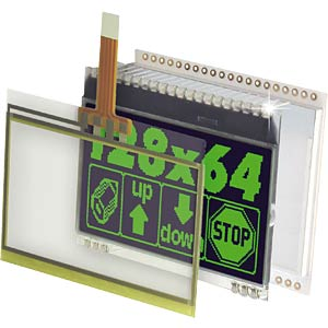 Touchpanel für EA DOGXL160-7 ELECTRONIC ASSEMBLY EA TOUCH160-1