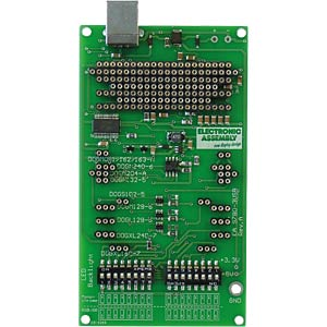 USB test board ELECTRONIC ASSEMBLY EA 9780-3USB