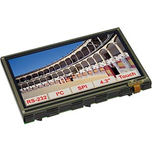 Intelligent TFT graphics display 10.9 cm 480 x 272 ELECTRONIC ASSEMBLY EA EDIP-TFT43A
