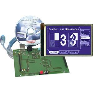 Starterkit mit eDIP240J LCD, touch ELECTRONIC ASSEMBLY EA EVALEDIP240J-7
