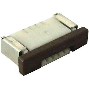 Angled plug, 4-pin, for EA TOUCH128 for DOG-M ELECTRONIC ASSEMBLY EA WF100-04S