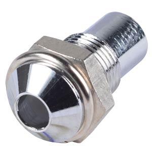 Einbaufassung, 3mm, Aussenreflektor, chrom SIGNAL CONSTRUCT SMQ1069