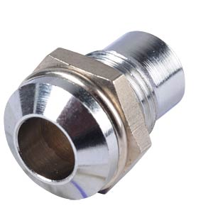 Installation socket, 5 mm, external reflector, chrome SIGNAL CONSTRUCT SMQ1089
