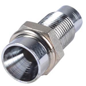 Installation socket, 3 mm, internal reflector, chrome SIGNAL CONSTRUCT SMZ1069