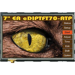 Intelligentes TFT-Grafikdisplay 7,0, Touch Panel ELECTRONIC ASSEMBLY EA EDIPTFT70-ATP