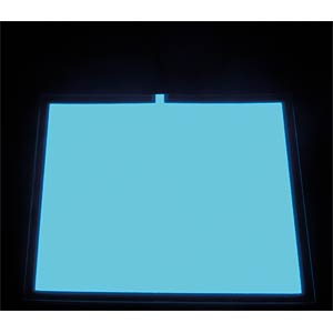 Leuchtfolie, cyan, 100x100 mm ZIGAN DISPLAYS