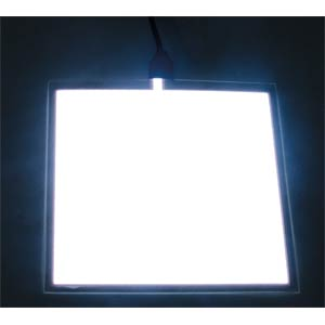 Leuchtfolie, weiß, 100x100 mm ZIGAN DISPLAYS EL16