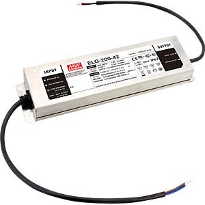 LED-Trafo, 192 W, 12 V DC, 16000 mA MEANWELL ELG-200-12D2-3Y