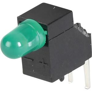 LED-Baustein, grün, 3 mm, 7 mcd, 60° ELMA 09H0011-60