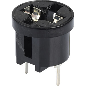 Lamp holder, W2.1x9.5d, with soldering pins FREI