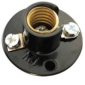 FASSUNG 9202 - Illu-Fassung, E10, 12 V, Kunststoff isoliert