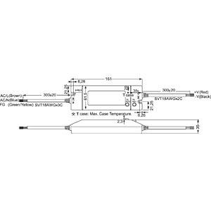 Schaltnetzteil f. LED, 60W /24V /2,5A, IP64 MEANWELL HLN-60H-24A