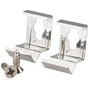 BARdolino LED profile retaining clip set, 45° BARTHELME 50990091
