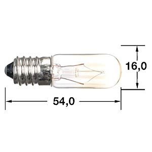 Emergency light E14 T5 RL (16x54 mm) BARTHELME L 0011-2301