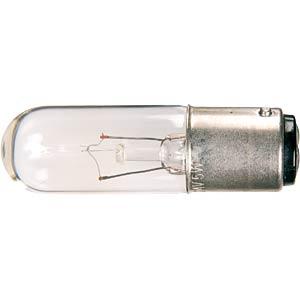 Notbel., BA15d, T5 RL, 16x54mm, 230V, 5-7W BARTHELME L 0012-2301
