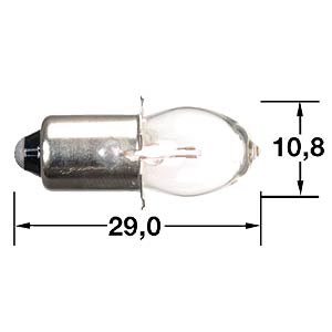 MINIWATT Krypton bulb (olive-shaped) BARTHELME 00671207