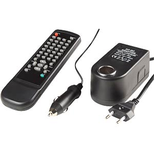 12 V, 7 x 50, incl. adapter 230 V and remote control FREI