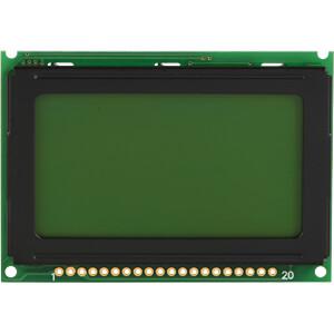 LCD-Grafikdisplay, 128x64 Pixel, ge/gn, m.Bel. DISPLAY ELEKTRONIK DEM 128064B SYH-PY