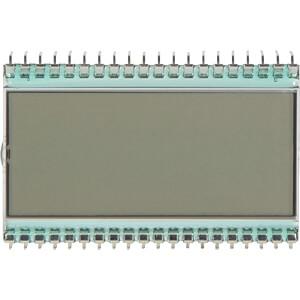 LCD-7-Segment, 1x3 + SZ, H:12,7mm DISPLAY ELEKTRONIK DE 113-TS-20/7,5