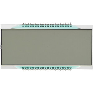 LCD-7-Segment, 1x4, H:25,4mm DISPLAY ELEKTRONIK DE 158-RS-20/8,4