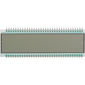 LCD-7-Segment, 1x8, H:12,7mm DISPLAY ELEKTRONIK DE 125-TU-30/12,2