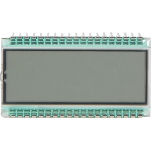 LCD-7-Segment, 1x8, H:6,0mm DISPLAY ELEKTRONIK DE 124-RS-20/7,5(3)